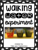 Walking Water Experiment Writing