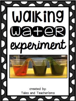 Walking Water Experiment Writing