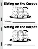 Walking in Line/ Sitting at the Carpet Mini-Books