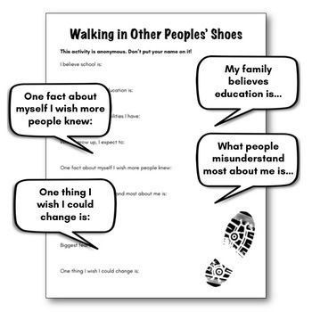 Classroom Lesson on Empathy (A First Day of School Activity)