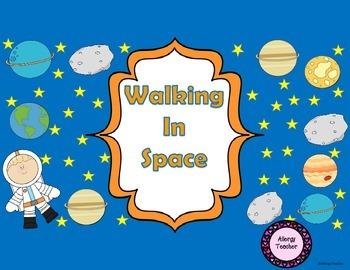 Walking in Space Math Game