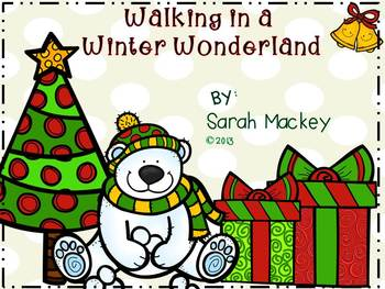 Walking in a Winter Wonderland {Common Core Math Activities}