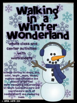 Walking in a Wonderland {Science and Math}