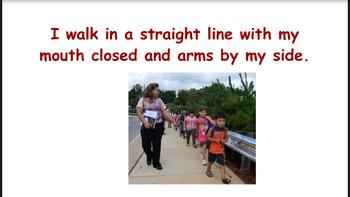 Walking in line/ In Hallway