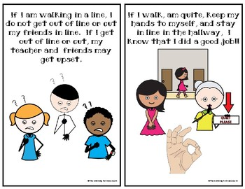 Walking in the Hallway: A Social Story