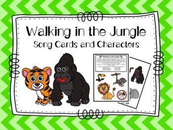 Walking In The Jungle Song By Cherry Blossom Creations Tpt