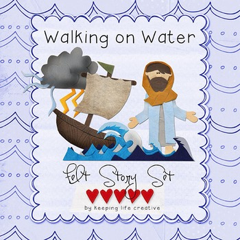 Walking on Water, Calming the Sea {New Testament Scripture Printables}