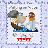 Walking on Water, Calming the Sea {New Testament Scripture
