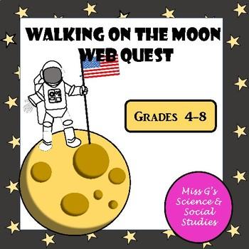 Walking on the Moon WebQuest