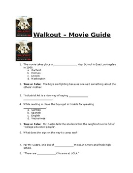 Walkout - Movie Guide