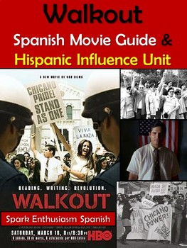 Walkout Movie Guide in Spanish and Hispanic Influence Unit
