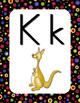 Wall Alphabet Cards (Manuscript Font)