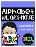 Wall Alphabet & Pictures Letters + Digraphs