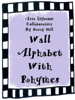 Wall Alphabet and ABC Rhymes