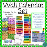 Wall Calendar coordinates with Interactive Calendar Books