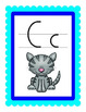 Wall Cards, Charts, Name Plates and strips Handwriting Without Tears style