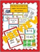 Wall Clock Labels with Matching Unit Activities - CCSS