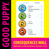 Consequences Wall . Child Behavioral & Emotional Tools by
