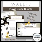 Wall E Movie Guide Print and Digital Bundle