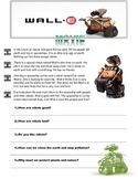 """Wall-E"" movie worksheet"