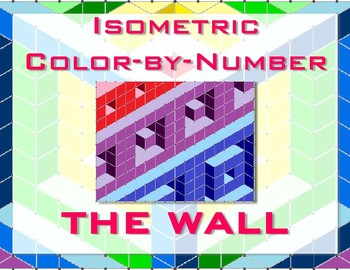 Wall Isometric Color-by-Number