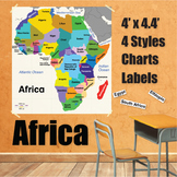 Wall Maps - Africa