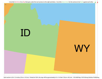 Wall Maps - USA
