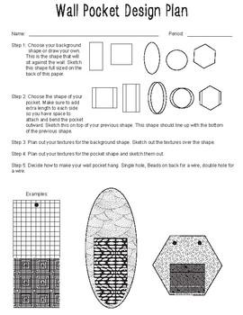 Wall Pocket Design Plan