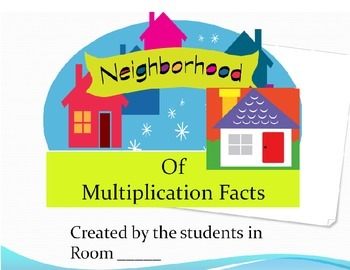 Poster for a Multiplication House Neighbourhood