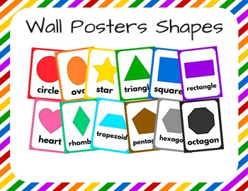 Wall Posters Shapes