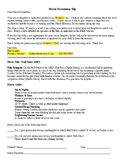 Wall Street - Movie Permission Slip