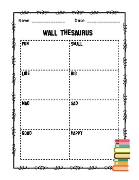 Wall Thesaurus