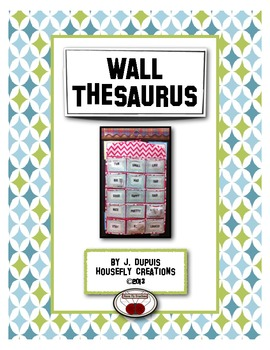 Wall Thesaurus