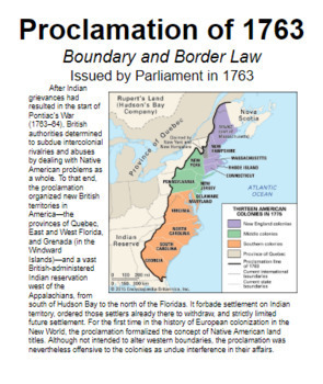 """Wall Timeline 2 - """"Revolutionary War"""" - (Early US History)"""