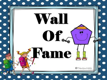 Wall of Fame- Geometry Addition