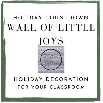 Wall of Little Joys - Holiday Inspiration Wall