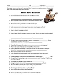 WallE Movie Questions