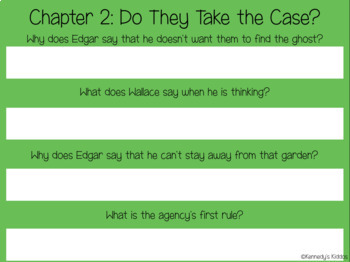 Wallace and Grace - Take the Case Novel Study (Great for Google Classroom!)