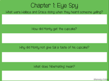 Wallace and Grace & the Cupcake Caper Novel Study (Great for Google Classroom!)