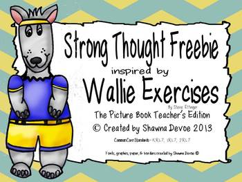 Strong Thought Freebie inspired by Wallie Exercises by Ste