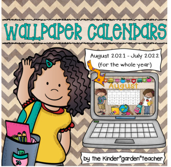 Wallpaper Calendars for the Year 2018-2019