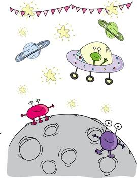 Wallpaper - Space Alien