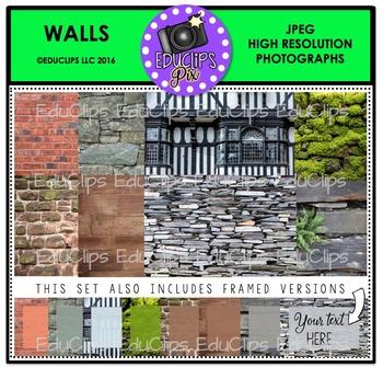 Walls Photo Set {Educlips}