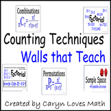 Permutations and Combinations-Poster-Vocabulary Walls That Teach