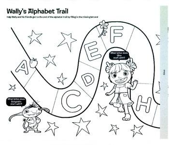 Wally's Alphabet Trail