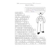 Wally's Vocabulary Wall