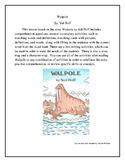 Walpole by: Sid Hoff Literature Lesson