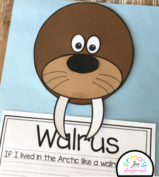 Walrus Craft With Writing Prompts/Pages