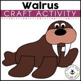 Walrus Craft   Arctic Animal Crafts   Winter Walrus Craft   Walrus Activities