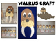 Walrus Facts {Lots of great facts about Walruses} A fun Fact Booklet and craft!